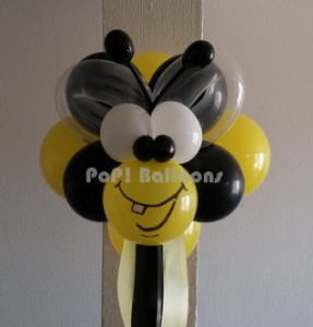 bumble bee character party ball